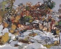 洪凌 暖雪 布面油画 - 洪凌 - 中国油画 - 2006秋季艺术品拍卖会 -收藏网