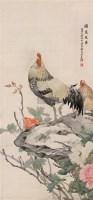 国色天香 立轴 设色绢本 - 刘奎龄 - 中国书画(一)京津画派作品 - 2005春季文物展销会 -收藏网