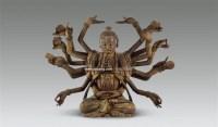 木雕观音坐像 -  - 古董珍玩 - 2011年春季艺术品拍卖会 -中国收藏网