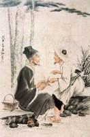 蒋兆和李时珍问药图 -  - 中国书画 - 北京三千年艺术品拍卖会 -收藏网