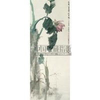 芭蕉树 - 张坤仪 - 中国书画 - 2008秋季拍卖会 -中国收藏网