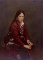 甘南藏女 -  - 中国油画 - 2008春季中国油画拍卖会 -中国收藏网