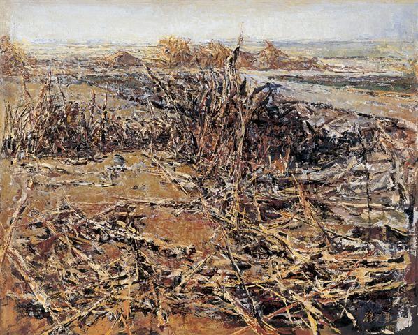徐晓燕 1999年 大地 布面 油画 - 137440 - 中国油画及雕塑 - 2006秋季拍卖会 -收藏网