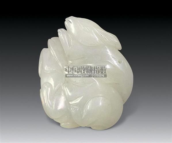 玉兔 -  - 古玩瓷杂 - 2009年春季艺术品拍卖会 -收藏网