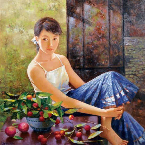 高虹 2005年作 回忆 布面 油画 - 156593 - 油画 - 2006年金秋珍品拍卖会 -收藏网
