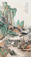 山水 立轴 设色纸本 - 吴石仙 - 中国书画 - 2006新年拍卖会 -收藏网