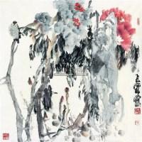 写意花鸟 镜心 设色纸本 - 117457 - 中国书画 - 2007春季中国书画拍卖会 -收藏网