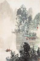 山水 立轴 设色纸本 - 宋涤 - 中国书画 - 2006年迎春拍卖会 -收藏网