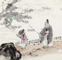 松下问童子 镜框 -  - 中国书画 - 2011秋季艺术品拍卖会 -收藏网