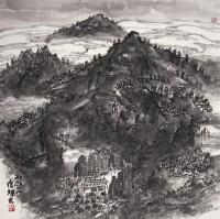 唐辉 山水 - 142567 - 中国书画 - 四季拍卖会(第56期) -收藏网