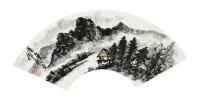 山水扇面 扇面 设色纸本 - 蒲华 - 中国书画 - 2011秋季艺术品拍卖会 -收藏网