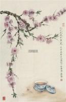 此花此味不在心外 镜心 设色纸本 -  - 中国书画(一) - 2012迎春拍卖会 -收藏网