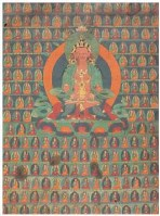 无量寿佛唐卡 -  - 佛像唐卡 - 2007春季艺术品拍卖会 -收藏网