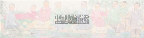 村姑 软片 设色纸本 - 114703 - 茶语轩书画专场 - 2011年春季中国书画拍卖会 -收藏网