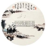 粉彩诗文花鸟盘 -  - 瓷器杂项 - 2009大型艺术精品拍卖会 -收藏网