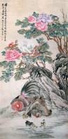 花卉 立轴 设色纸本 - 郑集宾 - 中国书画 - 2007秋季艺术品拍卖会 -收藏网