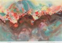 朱德群 《悦》前序 版画 - 朱德群 - 油画专场 - 2006首届艺术品拍卖会 -收藏网