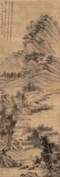 栖霞幽居图 立轴 设色绫本 - 李方膺 - 中国古代书画专场 - 2007夏季艺术品拍卖会 -中国收藏网