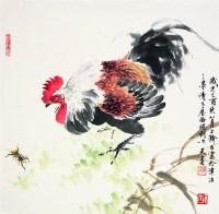 大吉图 镜心 设色纸本 -  - 中国书画 - 2008太平洋迎春艺术品拍卖会 -收藏网