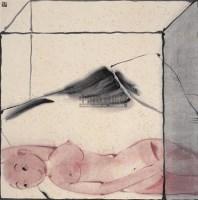 格子 镜心 设色纸本 - 130589 - 中国当代书画 - 2009春季拍卖会 -收藏网