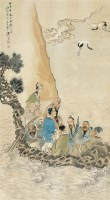沈啸梅(近现代)八仙过海 -  - 中国书画(一) - 2007秋季艺术品拍卖会 -收藏网