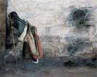 人物 布面 油画 - 王琨 - 中国油画 雕塑影像 - 2006广州冬季拍卖会 -收藏网
