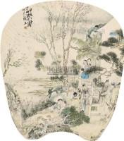 人物 挂轴 设色纸本 - 118893 - 中国书画 - 2011春季拍卖会 -中国收藏网