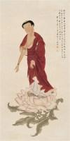 潘和 1990年作 罗汉像 立轴 设色纸本 -  - 中国书画 - 2006秋季文物艺术品展销会 -收藏网