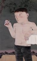 向庆华 2006年作 玩偶 布面油画 - 向庆华 - 中国当代艺术二十年 - 2006秋季拍卖会 -收藏网