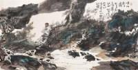 山水人物 镜心 设色纸本 - 6147 - 中国书画 - 2005秋季艺术品拍卖会 -收藏网