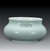 清康熙景德镇窑青釉炉 -  - 中国古代工艺美术 - 2007年仲夏拍卖会 -收藏网