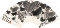 葡萄 镜片 纸本 - 周怀民 - 中国书画(一)名家扇面及小品专场 - 2011年首届春季大型艺术品拍卖会 -收藏网