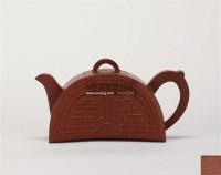 吉安款 半月壶 -  - 中国当代高端工艺品 - 2011年春季拍卖会 -收藏网