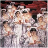 苗再新 天使在人间 镜心 - 苗再新 - 中国当代水墨 - 2007秋季拍卖会 -收藏网