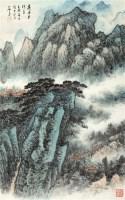 高寺夕阳多 立轴 纸本 - 俞子才 - 中国书画(三) - 嘉德四季第二十八期拍卖会 -收藏网