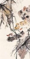 畅游 立轴 - 骆孝敏 - 中国书画 - 2011年春季艺术品拍卖会 -收藏网
