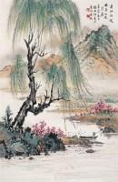春江水暖 立轴 设色纸本 - 徐北汀 - 中国书画 - 2008春季艺术品拍卖会 -收藏网