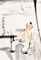 清热消暑 镜心 设色纸本 - 17076 - 中国书画 - 2011首届书画精品拍卖会 -收藏网