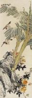 陈摩 花鸟 -  - 近现代画专场 - 2008年秋季大型艺术品拍卖会 -收藏网
