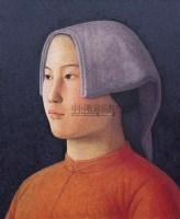 肖像 布面油彩 - 153293 - 中国油画(一) - 2006年中国艺术品春季拍卖会 -收藏网