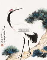 松鹤延年 镜片 纸本 - 2960 - 中国书画(二) - 2011年春季拍卖会 -收藏网