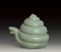 青瓷蛇形水注 -  - 瓷器 - 2007年春季大型艺术品拍卖会 -收藏网
