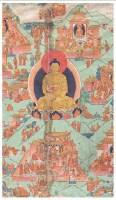 佛本生故事唐卡 -  - 佛像唐卡 - 2007春季艺术品拍卖会 -中国收藏网