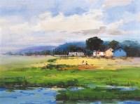 乡村 布面油画 -  - 油画之光—油画专场 - 北京康泰首届艺术品拍卖会 -收藏网