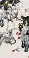 秋溪草堂 立轴 设色纸本 - 许昭 - 中国书画 - 2010秋季艺术品拍卖会 -收藏网