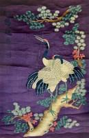 绣品《松鹤延年》 -  - 古董珍玩 - 2012迎春艺术品拍卖会 -收藏网