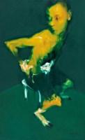 身体的图像NO.14 布面 油画 - 吴建军 - 中国油画雕塑 - 2007秋季艺术品拍卖会 -收藏网