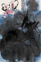 俞云阶    荷花双鸭 - 俞云阶 - 中国近现代书画 - 2007年第1期嘉德四季拍卖会 -收藏网
