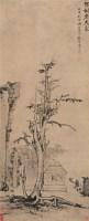 独树老夫家 - 渐江 - 玉莲斋藏画 - 2006年秋季艺术品大型拍卖会 -收藏网