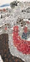 长风万里 镜心 设色纸本 - 128914 - 近现代书画 - 2007秋季中国书画名家精品拍卖会 -中国收藏网